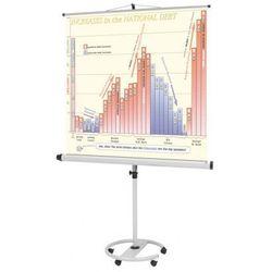 Mobilny ekran projekcyjny na statywie, 1800 x 1800 mm