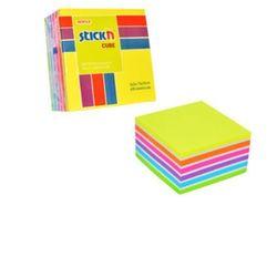 Karteczki samop. STICK'N 76x76 400k. - mix neon