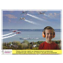 Słuchawki ochronne nauszniki dla dzieci od ok 2lat - flaga niemiecka