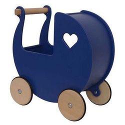 Wózek dla lalek Moover Niebieski marynarski