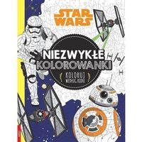 Kolorowanki, Niezwykłe kolorowanki Star Wars, Koloruj według wzoru - Opracowanie zbiorowe
