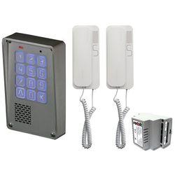 Zestaw 2-rodzinny Radbit Cyfrowy panel domofonowy wielorodzinny z szyfratorem KEC-4 NT MINI GD36