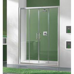 SANPLAST drzwi Tx 5 160 przesuwne, szkło CR D4/TX5b-160 600-271-1260-38-371
