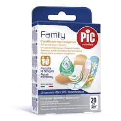 Plastry Family (20 szt.) antybakteryjne