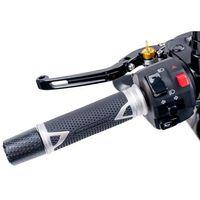 Manetki motocyklowe, Manetki PUIG Hi-Tech Radikal do kierownic 22 mm (srebrne)