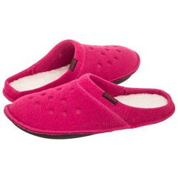 Kapcie Crocs Classic Slipper Candy Pink/Oatmeal 203600-6ME (CR131-a)