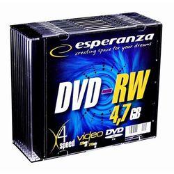 ESPERANZA DVD-RW + Odbiór w 650 punktach Stacji z paczką!