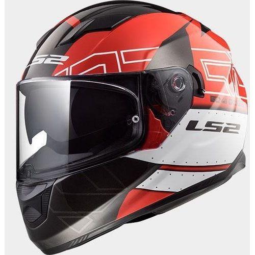 Kaski motocyklowe, KASK LS2 FF320 STREAM EVO KUB RED BLACK