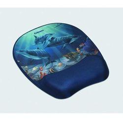 Podkładka żelowa FELLOWES MEMORY FOAM pod mysz i nadgarstek delfiny - X01830
