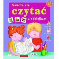 Książki dla dzieci, Naklejanki - Nauczę się czytać SIEDMIORÓG (opr. broszurowa)