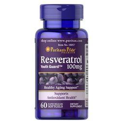 Puritan's Pride Resveratrol 100mg 60kaps.