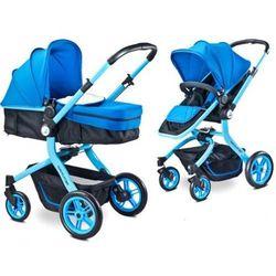 Wózek wielofunkcyjny 2w1 Caretero Navigator Blue