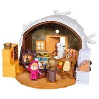 Figurki i postacie, Masza Zimowy domek Niedźwiedzia