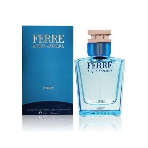 Pozostałe zapachy, Gianfranco ferre acqua azzura woda toaletowa dla mężczyzn 100ml - 100ml