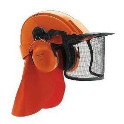 Zestaw hełmowy dla pilarza, leśnika G2000CUV / H31 / V4C, pomarańczowy, CE