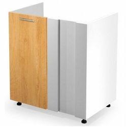 Kuchenna narożna szafka zlewozmywakowa dąb miodowy - Limo 16X