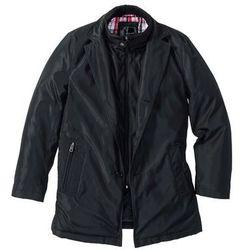 Krótki płaszcz zimowy bonprix czarny