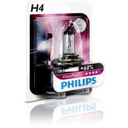 PHILIPS H4 12V 60/55W P43t-38 VisionPlus