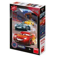 Puzzle, Auta 3 - Vítězné kolo: svítící neonové puzzle 100XL dílů neuveden