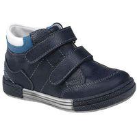 Półbuty i trzewiki dziecięce, Trzewiki nieocieplane buty KORNECKI 4666 Granatowe - Multikolor   Niebieski   Granatowy