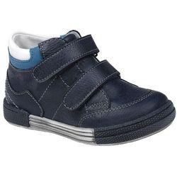 Trzewiki nieocieplane buty KORNECKI 4666 Granatowe - Multikolor ||Niebieski ||Granatowy