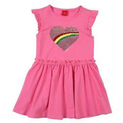 s.Oliver sukienka dziewczęca 104 różowa
