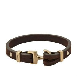 Fossil Bransoletka brown/goldcoloured