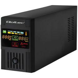 QOLTEC ZASILACZ UPS MONOLITH 800VA   480W   LCD   USB - 53952- natychmiastowa wysyłka, ponad 4000 punktów odbioru!