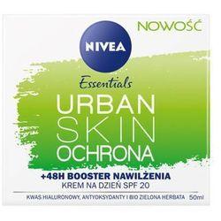 NIVEA 50ml Essentials Urban Skin Ochrona Krem do twarzy na dzień SPF20