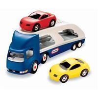Pozostałe zabawki dla najmłodszych, Little Tikes Duża laweta do przewozu samochodów