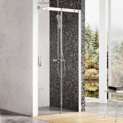 Ravak Matrix drzwi prysznicowe MSD2 - 110 L, wys. 195 cm, Polerowane aluminium + Transparent 0WLD0C00Z1