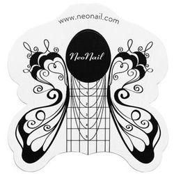NeoNail - Szablony do metody żelowej i akrylowej - MOTYL - 500 sztuk - ART. 4978-1