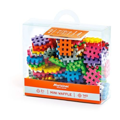 Pozostałe zabawki, Mini Waffle 140 elementów