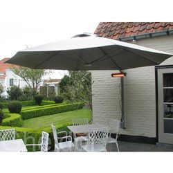 Parasol ogrodowy przyścienny Prostor PR6 średnica 350 cm made in Belgium
