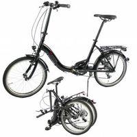 Pozostałe rowery, Aluminiowy rower składany SKŁADAK 7- biegów SHIMANO bagażnik niska rama