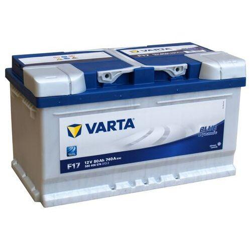 Akumulatory samochodowe, Akumulator VARTA BLUE DYNAMIC F17