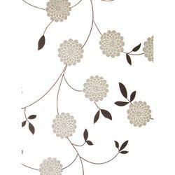 Bisk Zasłonka prysznicowa Basic Flowers 180 cm x 200 cm