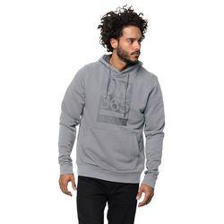 Męska bluza z kapturem 365 HOODY M slate grey - L