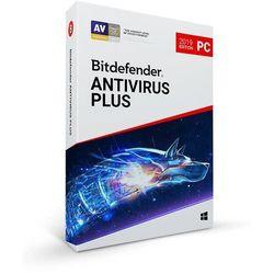 BitDefender Antivirus Plus 2019 (3 stanowiska, 3 lata)