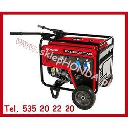 HONDA EM 4500 CXS AUTO + iAVR (4,5kW) Agregat prądotwórczy jednofazowy + OLEJ + DOSTAWA GRATIS