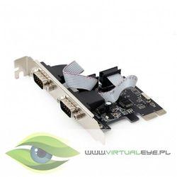 Gembird Karta sieciowa PCI Express/ 2porty RS232/2MBps