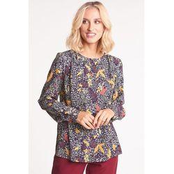 Bluzka w wyrazisty, kwiatowy wzór - Duet Woman