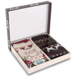 Zestaw 2 par wysokich skarpet dziecięcych STANCE - Girls 2 Pack Box Set G535D16HBO Multi