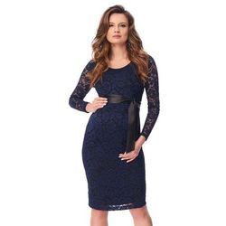 ubrania ciążowe Wieczorowa sukienka ciążowa Hueta Piękny Brzuszek