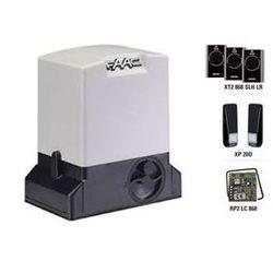 1. Automat FAAC 740 do bramy przesuwnej do 500kg 3 piloty 868Mhz