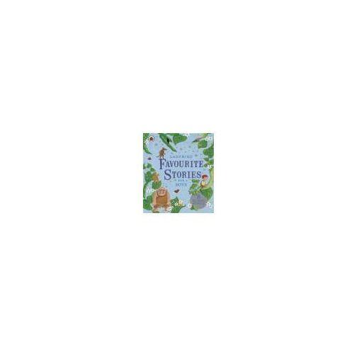 Książki do nauki języka, Ladybird Favourite Stories For Boys 8 Classic Stories (opr. twarda)