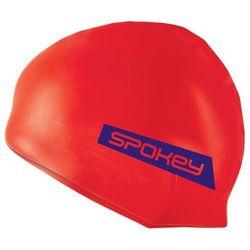 Spokey Freestyle - czepek pływacki (czerwony)