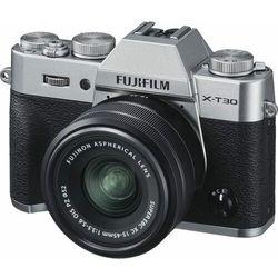 FujiFilm aparat fotograficzny X-T30 + XC 15-45 mm Silver