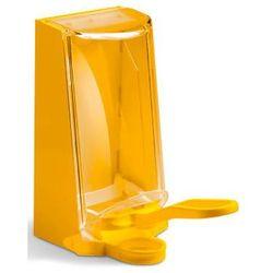 Dozownik do środków dezynfekcyjnych Sterisol - żółty - do gabinetu zabiegowego