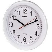 Zegary, Hama QUARZ WALL CL.PP-250 WHIT (001139210000) Darmowy odbiór w 21 miastach!
